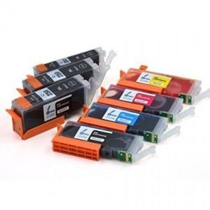 Compatible 250 251 (2 Black, 2 Photo Black, 1 Cyan, 1 Magenta and 1 Yellow)