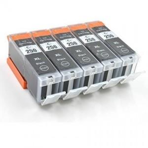 Compatible 250 251 Cartridges (5 Black)