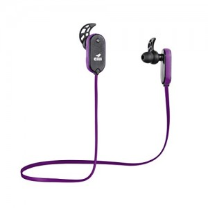 eHub Sports Bluetooth Earphones for Running (Purple)