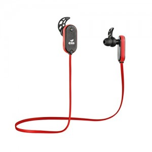 eHub Sports Bluetooth Earphones for Running (Red)