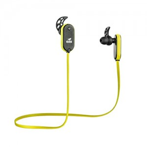 eHub Sports Bluetooth Earphones for Running (Yellow)